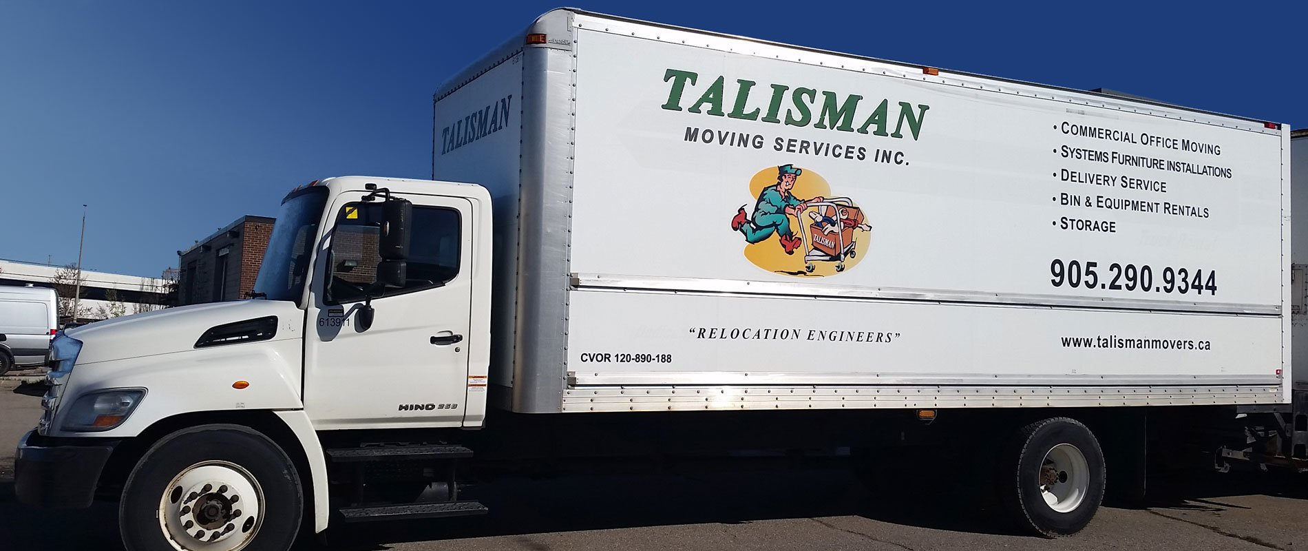 Talisman Movers Truck
