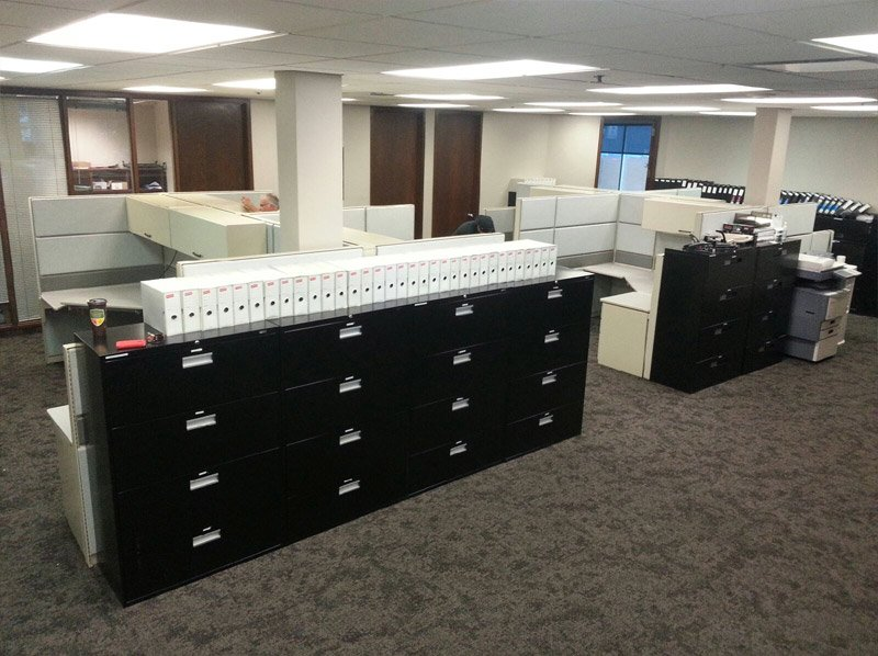 Teknion TOS Filing System